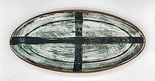 Cross Tray by Meg Dickerson (Ceramic Tray)