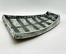 Shield by Meg Dickerson (Ceramic Platter)