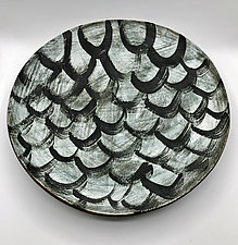 Layers by Meg Dickerson (Ceramic Platter)