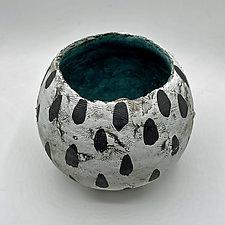 Blue Moon by Meg Dickerson (Ceramic Bowl)