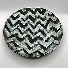 Confused by Meg Dickerson (Ceramic Platter)