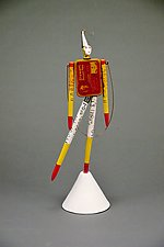 Stewart by Valerie Bunnell (Mixed-Media Sculpture)