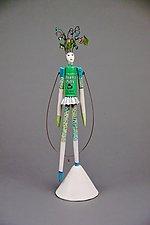Doans Pills by Valerie Bunnell (Mixed-Media Sculpture)