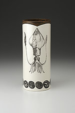 Large Vase: Squid by Laura Zindel (Ceramic Vase)
