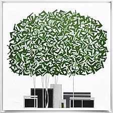 Green Maple No.272 by Chris Wheeler (Giclee Print)