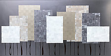 Silver Forest No.278 by Chris Wheeler (Mixed-Media Collage)