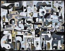 Vedauwoo No.28 by Chris Wheeler (Mixed-Media Collage)