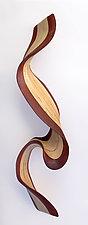 Wallwave by Kerry Vesper (Wood Wall Sculpture)