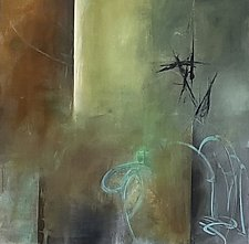 Dust Up by Marian Davis (Acrylic Painting)
