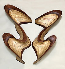 Flash Butterfly by Kerry Vesper (Wood Wall Sculpture)