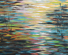 Shimmer by Stephen Yates (Acrylic Painting)