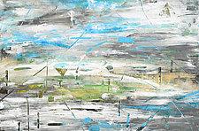 Aquifer Strata: Sea-Sky by Stephen Yates (Acrylic Painting)