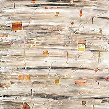Aquifer Strata XIII by Stephen Yates (Acrylic Painting)