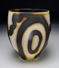 Tall Wide Bowl by Nicholas Bernard (Ceramic Bowl)