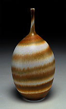 Golden Spiral by Nicholas Bernard (Ceramic Vessel)