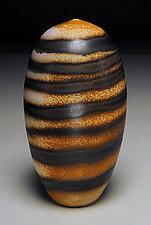 Spiral Shell by Nicholas Bernard (Ceramic Vase)