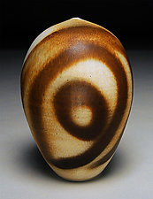 Satin Swirl by Nicholas Bernard (Ceramic Vessel)