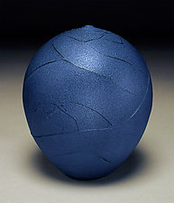 Indigo Wrap by Nicholas Bernard (Ceramic Vessel)