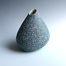 Bluezy by Berit Hines (Ceramic Vase)