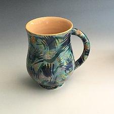 Kandinsky Mug by Berit Hines (Ceramic Mug)