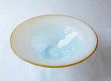 Sunset Bowl by Kimberly Savoie (Art Glass Bowl)