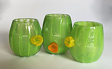 Cactus Cup by Kimberly Savoie (Art Glass Drinkware)