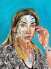Eye in Wonderland by Jason Balducci (Mixed-Media Painting)