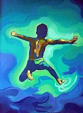 Making a Splash by Jason Watts (Oil Painting)