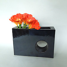 Hole in the Wall Vase by Kim Cutler (Ceramic Vase)