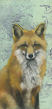 Sitting Fox 3 by Sylvia Gonzalez (Giclee Print)