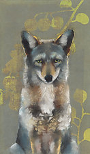 Coyote on Eucalyptus by Sylvia Gonzalez (Giclee Print)