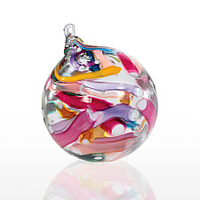 Primavera by Bob Kliss and Laurie Kliss (Art Glass Ornament)