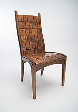 Side Chair by Alan Daigre (Wood Chair)