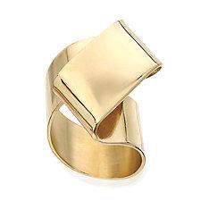 Z Ring by Mia Hebib (Gold & Brass Ring)