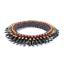 Flower Bracelet by Olga Mihaylova (Beaded Bracelet)