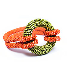 Ring Bracelet by Olga Mihaylova (Beaded Bracelet)