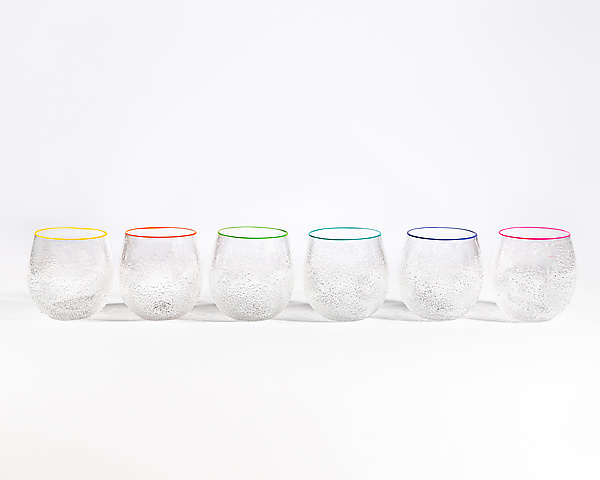 Clear Sparkle Cups
