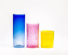 Standard Bubble Cylinders by Public Glass (Art Glass Vase)