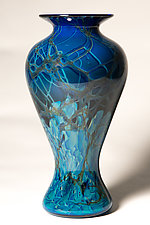 Cloud Vase 6 by Mike Wallace (Art Glass Vase)