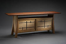 Folie by Brian Hubel (Wood Television Console)