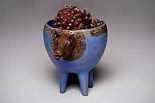 Animal Basin by Amy Elswick (Ceramic Bowl)