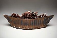 Pleated Gondola by Amy Elswick (Ceramic Bowl)