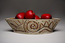 Carved Gondola by Amy Elswick (Ceramic Bowl)