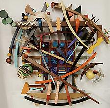 Air Chrysalis by Alan Levine (Wood Sculpture)