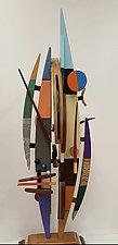 Centaurian by Alan Levine (Wood Sculpture)