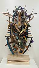 Medusa's Dilemma by Alan Levine (Wood Sculpture)