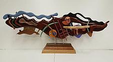 Rhythmic  Sensations by Alan Levine (Wood Sculpture)