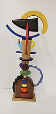 Primary Entanglements by Alan Levine (Wood Sculpture)