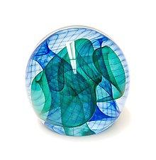 Atlantico by Edward Kachurik (Art Glass Paperweight)