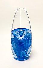 Flambeau Geyser by Edward Kachurik (Art Glass Paperweight)